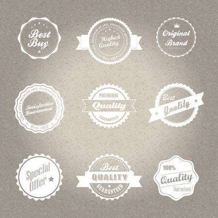 Vintage style badges Stock Vector - 20678973