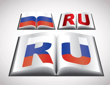 russian federation: National Flag concept of Russian Federation