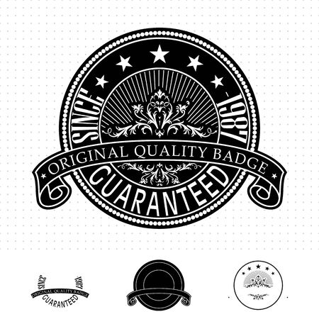 Vintage style badge Stock Vector - 20678837