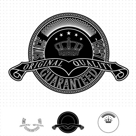 Vintage style badge Stock Vector - 20678835