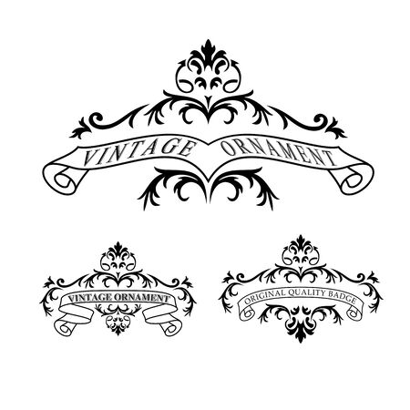 Vintage style badge Stock Vector - 20678836