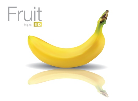 scalable: High detailed Banana in scalable vector format.