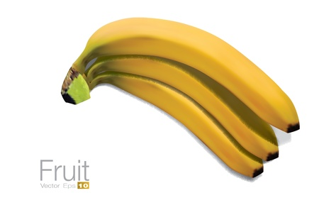 photorealistic: High detailed Bananas in scalable vector format.