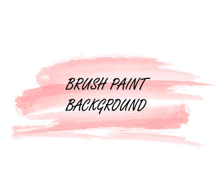Original grunge brush paint texture design acrylic stroke poster vector. Original rough paper hand painted vector. Perfect design for headline, logo and banner.