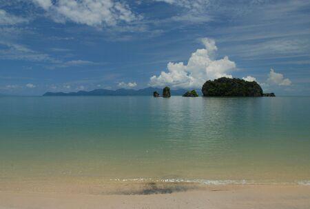 Tanjung Rhu beach, Langkawi in Malaysia Stock Photo - 5596508