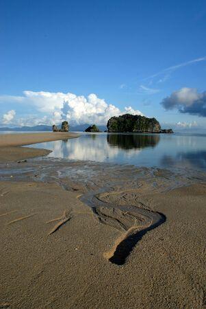 Tanjung Rhu beach, Langkawi in Malaysia photo