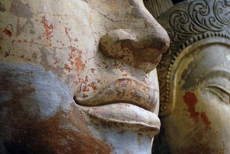civilizations: Sculpture in front of Asian Civilizations Museum in Singapore