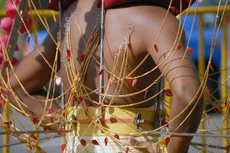 kavadi: Singapore, January 30, 2010, Thaipusam