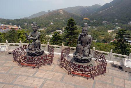lantau: Lantau Island, Hong Kong, Cina  Archivio Fotografico