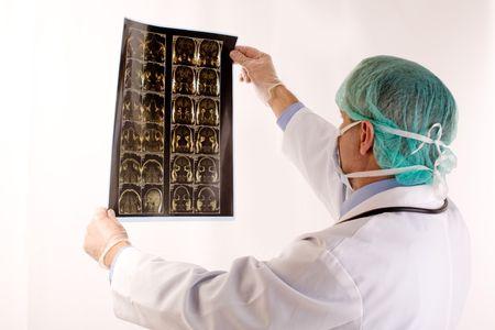 biopsia: Doctor  Foto de archivo