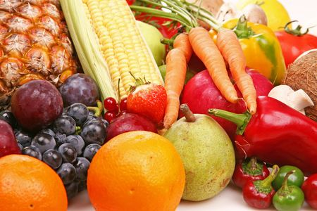 Fruit and vegetable Stock Photo - 3709498