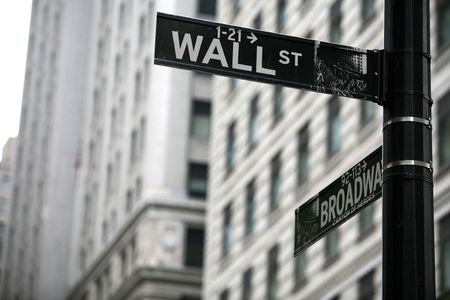 newyork: wall street Stock Photo