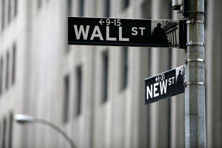 wallstreet: wall street Stock Photo