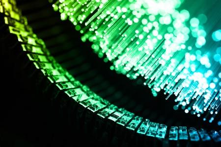Fiber optics background with lots of light spots Stock Photo - 7708893