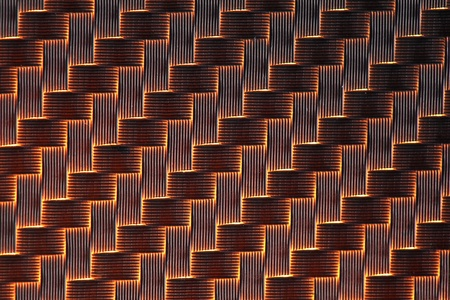 3d Carbon fiber background light photo