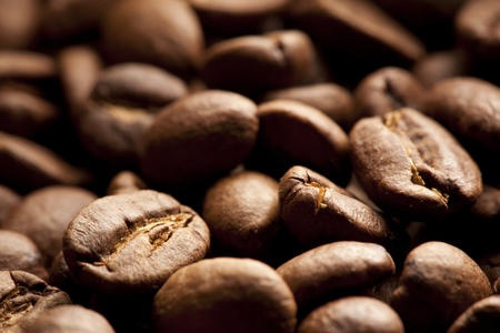 coffe beans: Coffee beans closeup background