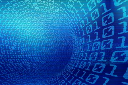 binary code: 3d binary