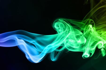 smoke on black Stock Photo - 14013995
