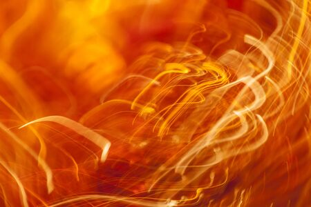 Orange light streaks abstract background Stock Photo - 17337801