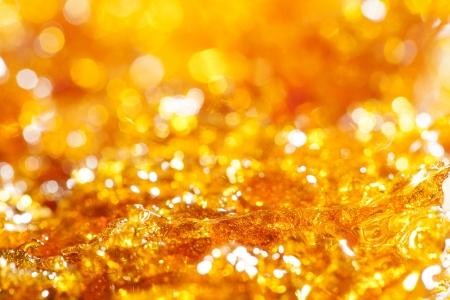caramel gold glitter background  photo