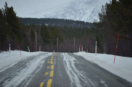 bumpy: bumpy winter road