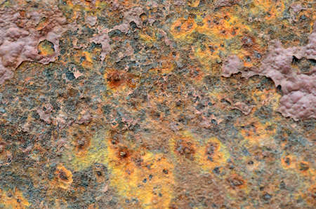 rusted metal plate texture background