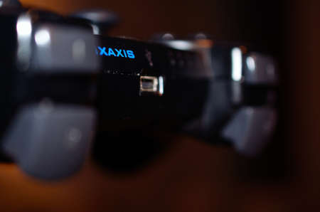 x axis: Playstation 3 dual shock controller Editorial