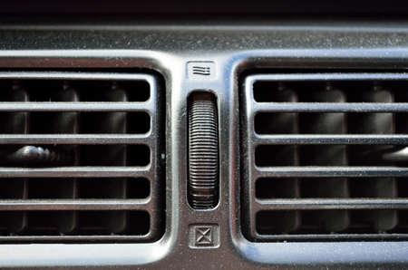 vents: black car vents
