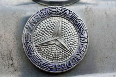 mercedes: mercedes car emblem, car badge