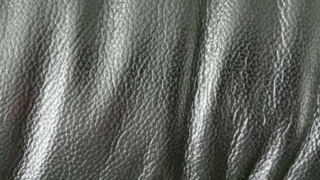 texture: Black leather background texture Stock Photo