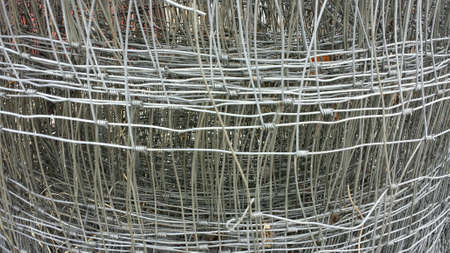 wire: Metal wire stack background texture Stock Photo