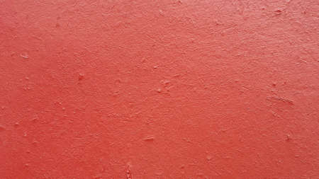 red wall: Red flat wall background texture Stock Photo
