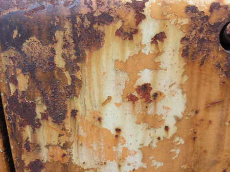 rusted background: rusted metal texture background