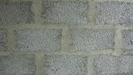 rough: Cinderblock house wall background