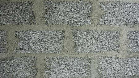 Cinderblock house wall background