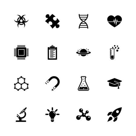 any size: Science icons - Expand to any size - Change to any colour.