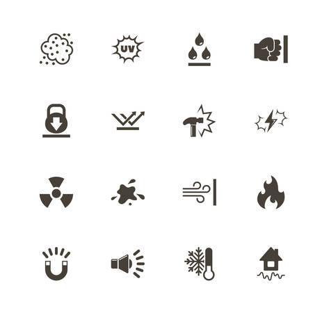 Iconos de la influencia. Pictograma negro perfecto en el fondo blanco. Icono de vector plano simple.