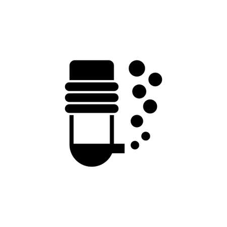 Aquarium oxygen filter vector icon. Simple flat symbol on white background