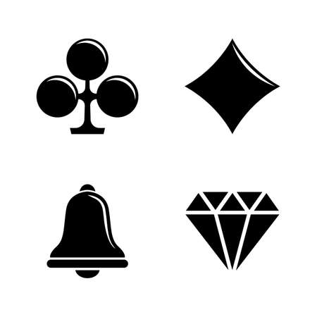Slot Machine, Casino. Simple Related Vector Icons Set for Video, Mobile Apps, Web Sites, Print Projects and Your Design. Slot Machine, Casino icon Black Flat Illustration on White Background.