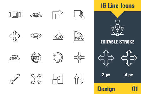 Image Editing, Photo Adjustments. Thin line icon - Outline flat vector illustration. Editable stroke pictogram. Premium quality graphics concept for web, logo, branding, ui, ux design, infographics