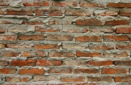 Rustic Brick Wall Background Stock Photo