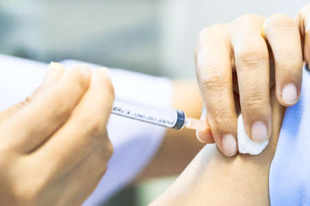 intramuscular: Vaccination for Protection Disease.