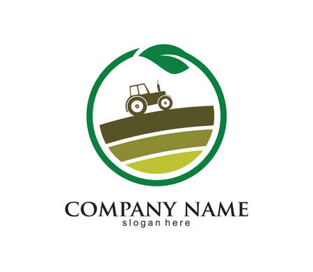 agriculture logo Design template, agriculture Symbol. farm. Vector illustration