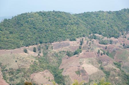 barren: The mountains of barren ground