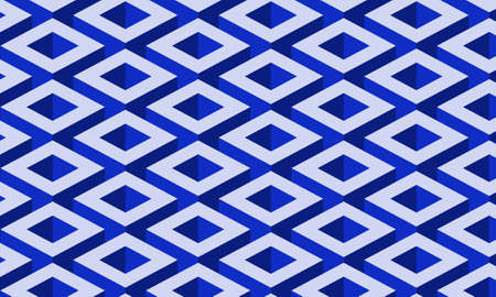 Blue geometric background seamless pattern for design your web poster, banner, landing page, background, template, etc.