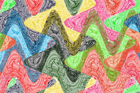 Creative Wavy Colorful Background