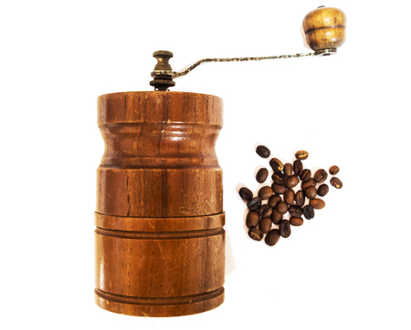Classic manual coffee Grinder Stock Photo