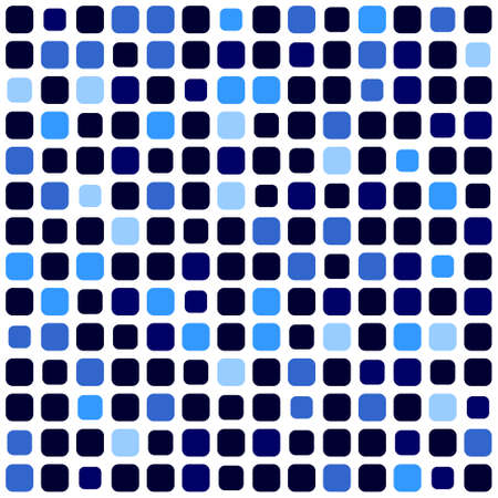 sized: mosaic background with a pattern of different sized squares Illustration