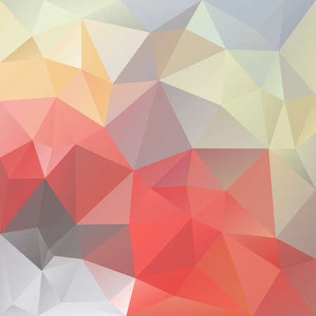infantile: vector background with irregular tessellations pattern - triangular design in pastel love infantile colors