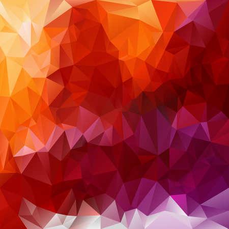 規格外のパターンを持つ多角形の背景